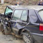 Težak sudar Golfa i Audija, povrijeđeno pet osoba, među njima i dijete