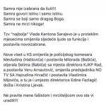 Ponovo se oglasila zastupnica Ćosović-Hajdarević: Šta ovdje nije jasno?